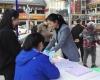 两江新区康美街道开展女职工维权月宣传活动