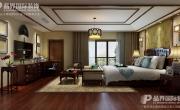 重庆鲁能领秀城别墅装修设计 新中式风格